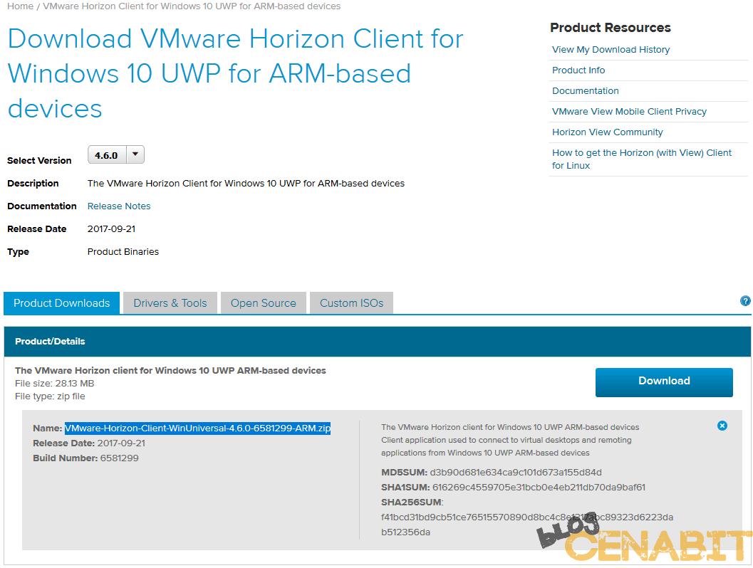 Download Vmware Horizon View